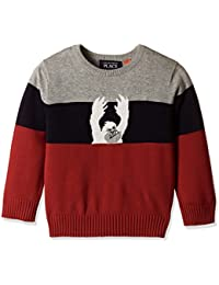 The Children's Place Baby Boys' Knitwear (20709181027_Classic Red_18-24 M)