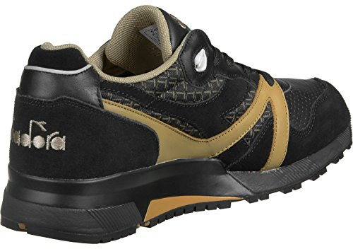 diadora N9000 Little Italy Schuhe Sneaker Turnschuhe Schwarz 501.170953 01 80013 Schwarz Beige