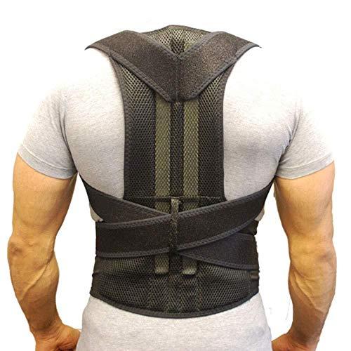 LPHPR Rückenstützgürtel Orthopädische Körperhaltung Korsett Rückenstütze,Geradehalter Rücken Bandage zur Haltungskorrektur bei Rücken Schulterschmerzen Damen und Herren