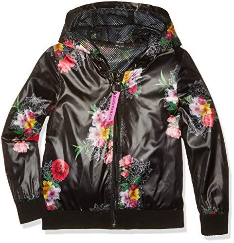 Guess Jacket Abrigo, Roses Boulevard Bla Pu98, 152