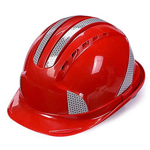 Schutzhelm Bau Sicherheit Helm-ABS Reflektierende Helm Baustelle Elektrischen Strom Bau Projekt...