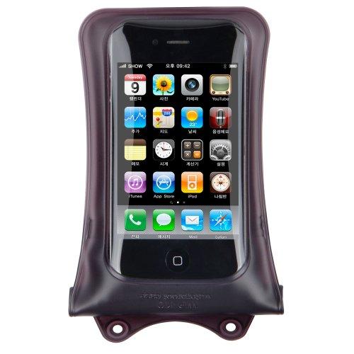 DiCAPac WP-i10 Wasserdichte Apple iPhone-Hülle und Schutztasche in schwarz schwarz