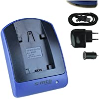 Ladegerät (USB KFZ Netz) para Sony NP-FV70 / DCR-PJ../SR../SX.. // DEV-3 5 30 50 50V // HDR-CX../PJ../XR.. // NEX-VG.. ver lista!