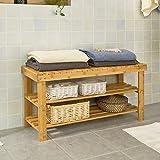Banc rangement de salle de bain bois de noyer for Banc pour salle de bain