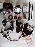 """MY1016Z3 Motore elettrico per bici 22"""" - 28"""" DC 24 V 350 W fai da te, kit per bici elettrica, kit di conversione bici elettrica."""