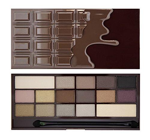 Makeup Revolution I Heart Makeup Lidschatten Palette - Wonder Palette - Death By Chocolate, 22 g