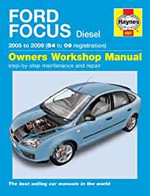 haynes 4807 service and repair workshop manual amazon co uk rh amazon co uk 2006 Ford Focus 4 Door ford focus 2009 workshop manual free download