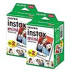 40 sheets Fujifilm Instax mini 9 films white Edge 3 Inch for Instant Camera 7 8 25 50s 70 90 sp-1 sp-2 Photo paper