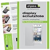 2x Dipos Antireflex Displayschutzfolie für Huawei Ascend G510