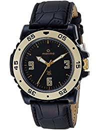 Maxima Hybrid Analog Black Dial Men's Watch - 29922LPGY