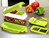 #8: Gambit's Miracle High Quality 12 in 1 Fruits And Vegetable Cutter - Chopper, Grater, Peeler - All In One