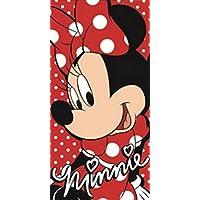 Disney toalla para la playa de algodón con diseño de Minnie Mouse ...