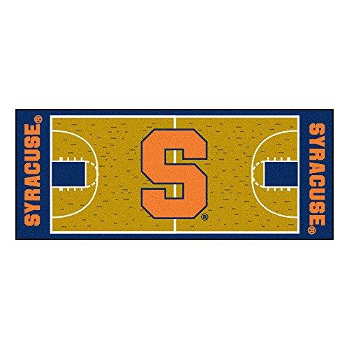 FANMATS NCAA Syracuse University Orange Nylon Face Basketball Court Runner Syracuse University Basketball