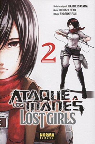 Descargar Libro Ataque a Los Titanes Lost Girls 2 de Hiroshi Seko, Ryosuke Fuji Hajime Isayama