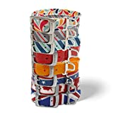 Kurgo Mist Halsband Hunde-Halsband, Blau, Rot, Orange, Grau, Multi Color, Patriot, Union Jack und Maple Leaf