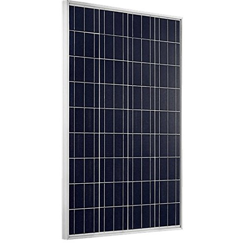 Giosolar 100Watt Poly Photovoltaic Solar Panel Solar Module for Home 12V Battery Charge