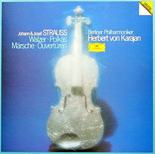 Strauss: Walzer, Polkas, Märsche, Ouvertüren [Vinyl Schallplatte] [3 LP Box-Set] Polka Set