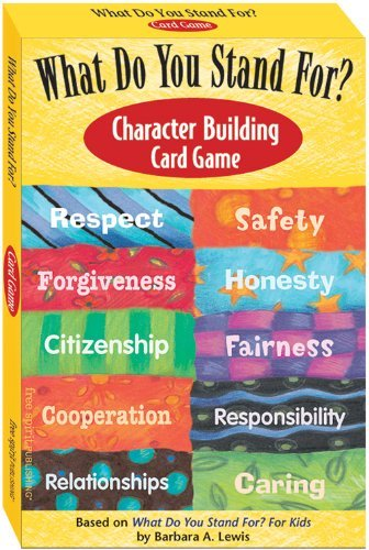 What Do You Stand For?: Character Building Card Game by Barbara A. Lewis (1-Oct-2006) Cards