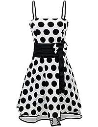 Laeticia Dreams Damen Kleid Petticoat Rockabilly S M L XL