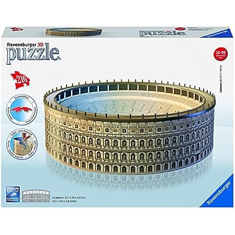 Ravensburger - Puzzle 3D Building: Coliseo (12578 4)