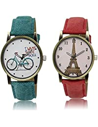 f69c0e9ae827 Drealex Combo Set of Analogue Multi-Color Dial Girl s and Women s Watch -  229 230