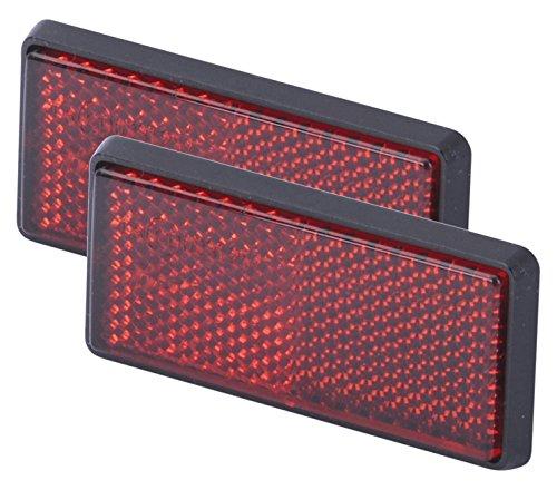 Preisvergleich Produktbild hr-imotion Reflektoren Set - 2 Stk je 76 mm lang [Selbstklebend | Made in Germany | Fahrzeuge & Heim] - 12310201