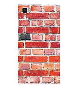 EPICCASE Brick wall Mobile Back Case Cover For Xiaomi Mi3 (Designer Case)