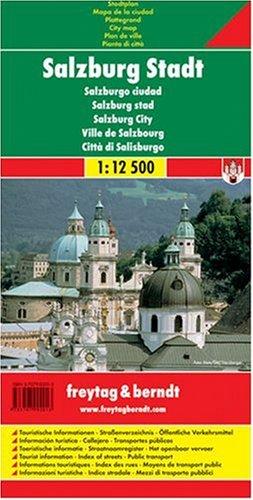 Salzburg. Stadtplan. 1 : 12 500.