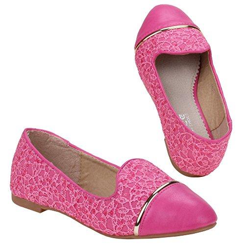 Mädchen Schuhe, Z-611, BALLERINAS Pink