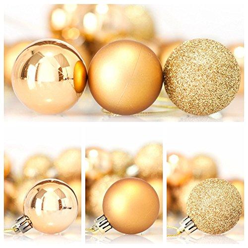 Utposts Mangotree Christmas Tree Decoration Shiny Matte Glitter