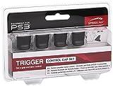 Speedlink Trigger Schutzkappen (schützt die Schultertasten des Gamepad, geeignet für den Playstation 3/PS3-Dualshock-Controller) schwarz