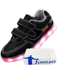 c0 EU 31,[+Kleines Handtuch] emittierende neuen sieben und Babyschuhe Farben Männer Schuhe Frauen Schuhe Die Leucht Schuhe leuchtet LED-Lampe korean