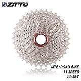 Durable 11 Speed Cassette 11-36T compatibile per il sistema di bici da strada Shimano Sram