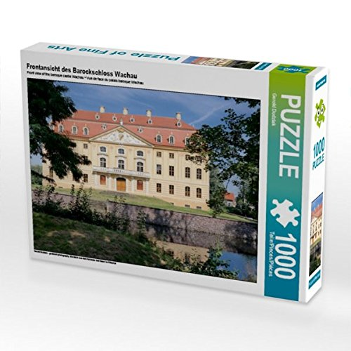Frontansicht des Barockschloss Wachau 1000 Teile Puzzle Quer