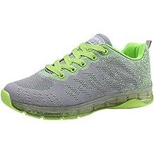 Zapatillas Running para Mujer Sneakers Fitness,BBestseller Zapatos para Correr En Montaña Asfalto Aire Libre