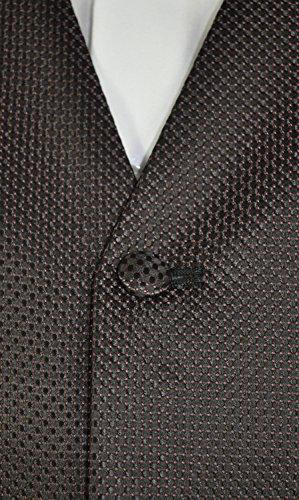 Michaelax-Fashion-Trade - Gilet - À Pois - Sans Manche - Homme Red - Bordeaux (58)