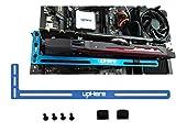 uphere–GPU-Halterung, Grafikkarten-Halterung blau