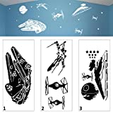Star Wars Battle Wall Art Vinyl Decal Sticker Childs Room Bedroom Playroom - DESIGNED AND CREATED BY EPIC MODZ