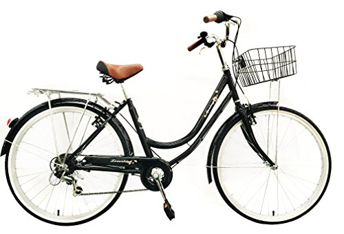 ladies-girls-spring-dutch-style-bike-bicycles-6-speeds-with-warranty-lightweight-black