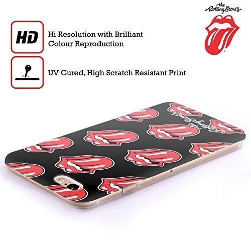 Offizielle The Rolling Stones Verzweifelte Zunge Lecken Kollektion Soft Gel Hülle für Apple iPhone 5 / 5s / SE Klassische Zunge Muster