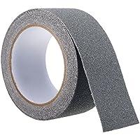SAFETYON Adhesivo Cinta Antideslizante para Escaleras Peldaños Ducha Suelo y Otras Superficies Resbaladizas Impermeable Evitar el Riesgo de Deslizamiento 5CM * 500CM