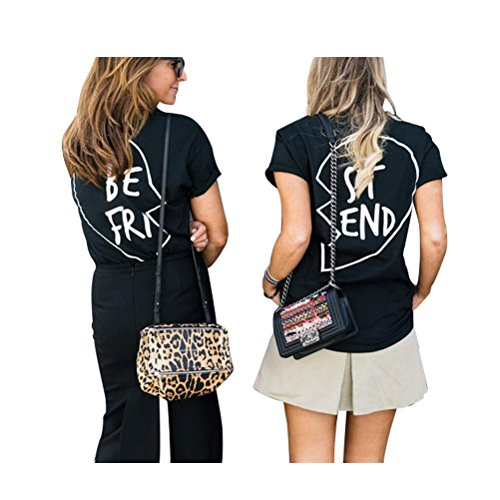 Best Friends T Shirts Women Bff Cotton Cute Funny Graphic Aesthetic Tumblr Tops Clothing Teen Girls Buy Online In Gibraltar At Desertcart Com Productid 48414958
