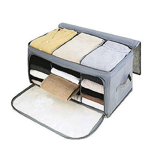 Perfectii Arrugas Bolsa Almacenamiento Storage Box Con Cremallera Para Perchero Organizador Temporada Manejable Ropa Jersey