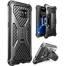 Etui pour Samsung Galaxy S7 Edge 2016 i-Blason [Serie Prime] Housse / Coque pour protection maximale avec technologie double couche et un clip de ceinture