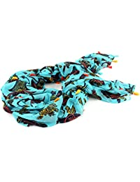 SCOTCH & SODA Lightweight Scarf in Prints & Solids with Tassles F