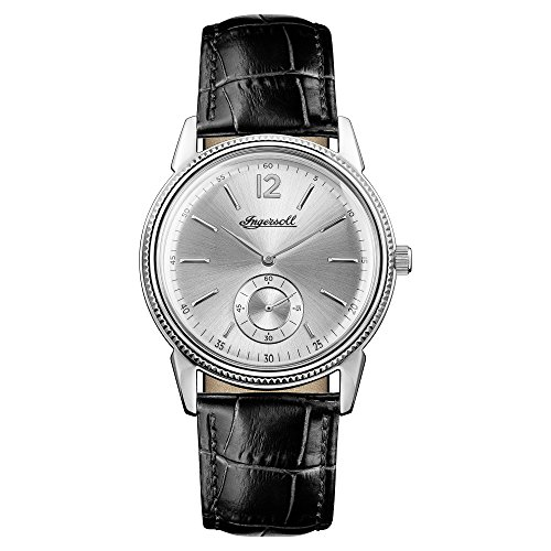 Ingersoll Herren Datum klassisch Quarz Uhr mit Leder Armband I04502