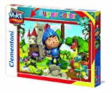Clementoni 27896.1 - Puzzle - Do it right Mike der Ritter, 104 Teile