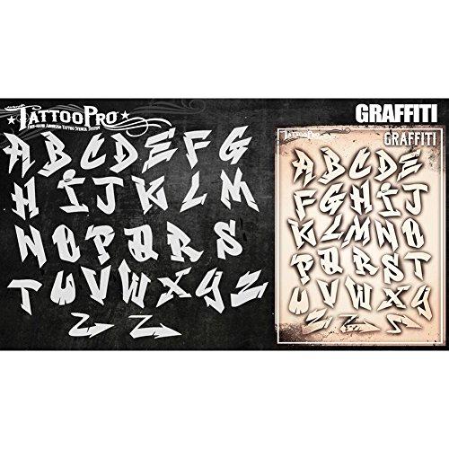 n–Graffiti Buchstaben Set (Halloween Graffiti Buchstaben)