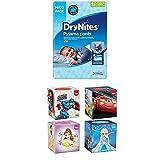DryNites Bettnässen Pyjama Unterhosen für Jungen, Jumbo Monatspackung 4-7 Jahre, 1er Pack (1 x 64 Stück)+ Kleenex Collection Kids 4X56Handkerchiefs 3-Ply Tissues Assortment Bundle