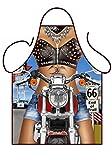 Sexy Biker Girl Apron Grillschürze